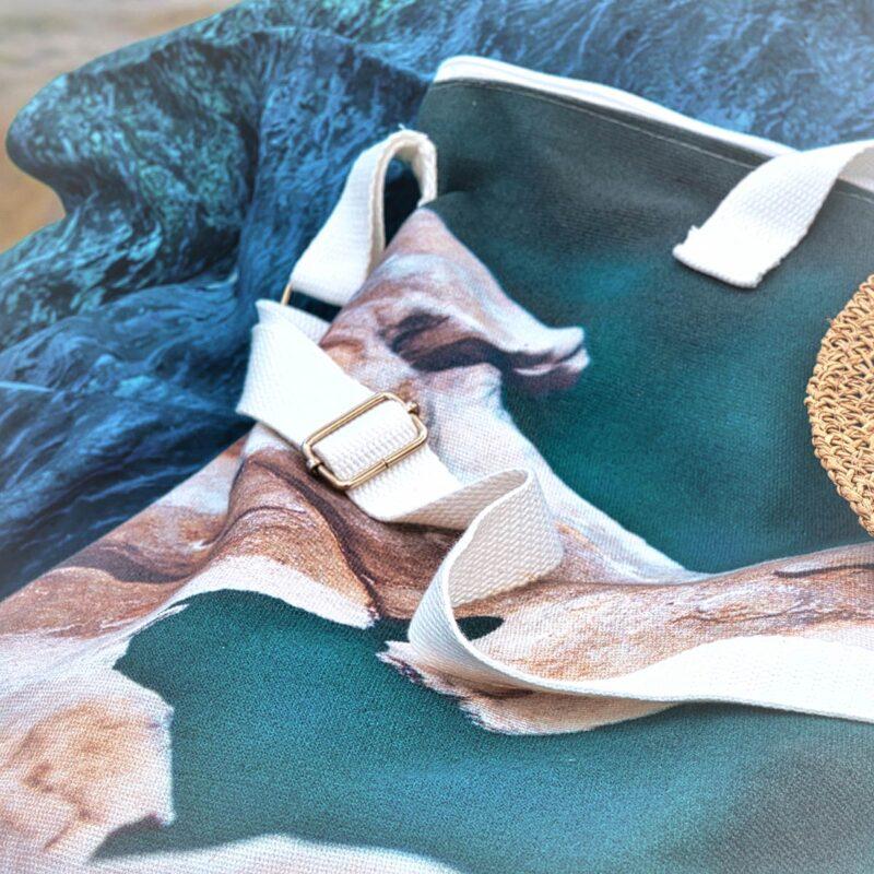 cotton-zipped-beach-bag
