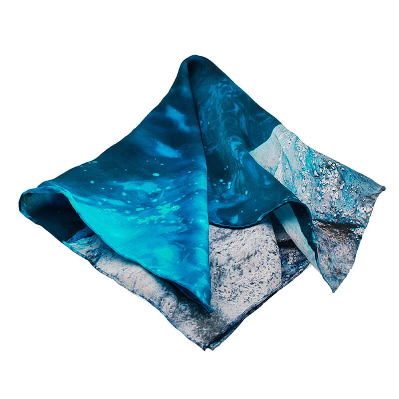 Silk Scarf The Breeze - Galazio.net