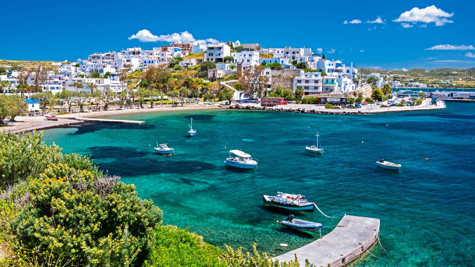 Adamas, Milos island, Cyclades, Greece