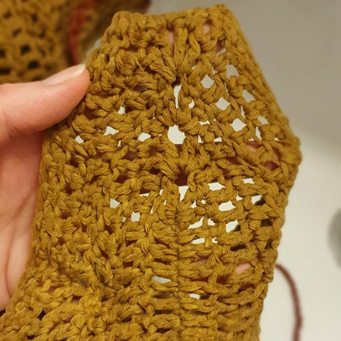 crochet bikini wet Cotton light by Drops