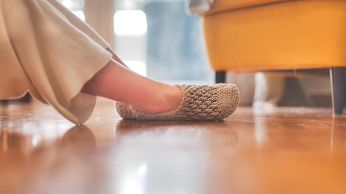 free crochet slipper socks pattern