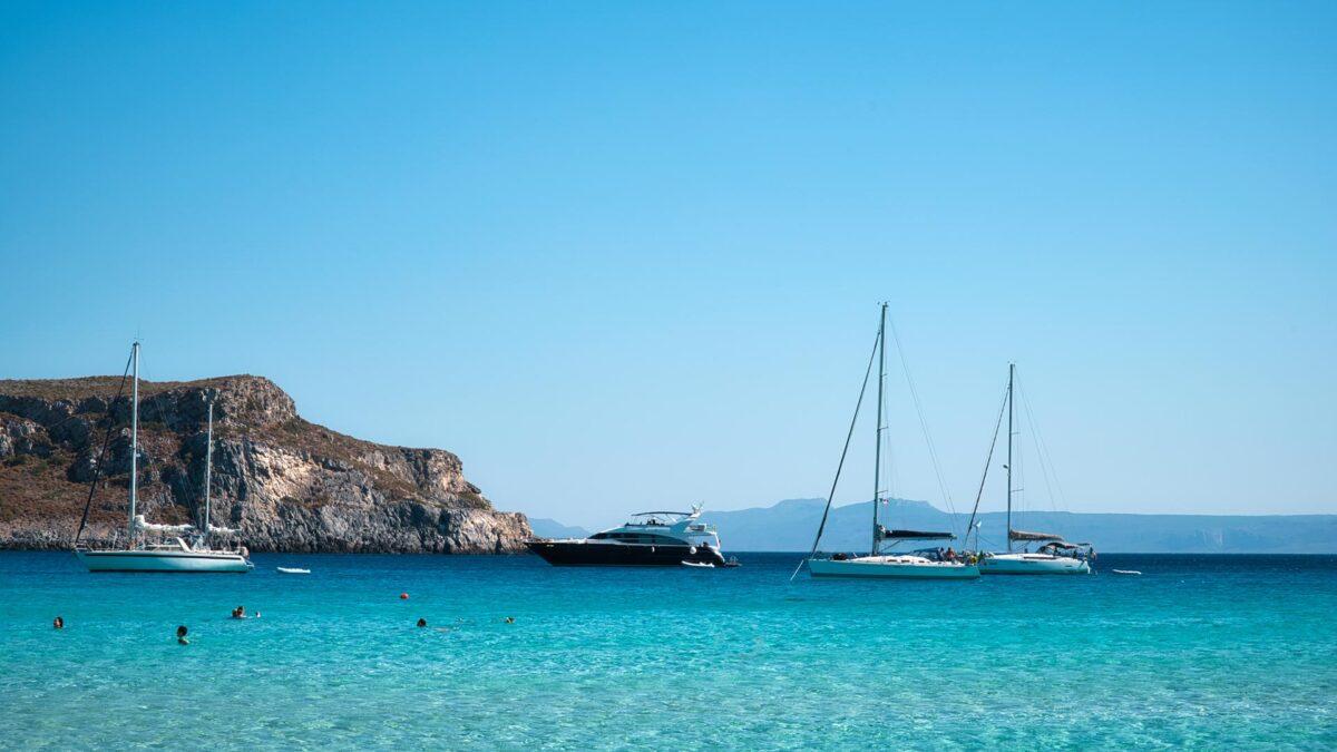 Elafonisos island, Greece, summer