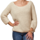 Crochet sweater DIY project pattern